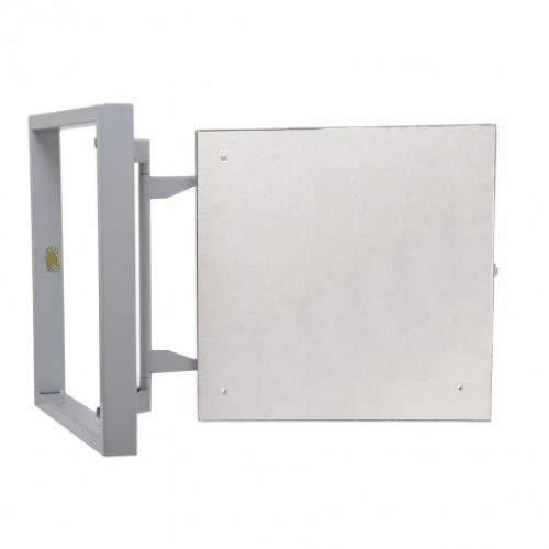 puerta de acceso Panel de acceso magn/ético oculto de acero bajo azulejos de cer/ámica puerta de inspecci/ón puerta de acceso 600 mm x 500 mm con ajuste 3D trampilla de inspecci/ón