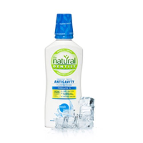 (The Natural Dentist Healthy Teeth Anti-Cavity Fluoride Rinse Fresh Mint 16.90 oz (Pack of)