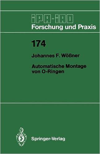 Automatische Montage von O-Ringen (IPA-IAO - Forschung und Praxis)