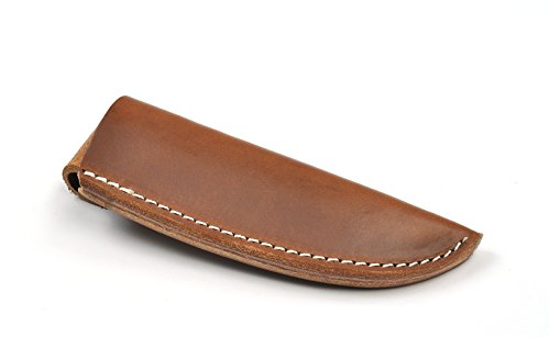 Premium Hand Made English Bridle Leather Sheath - Interior Dimensions: 5-1/2