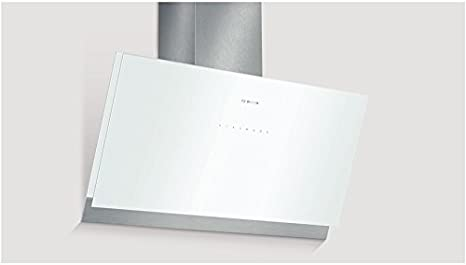 Bosch DWK098G21 - Campana (Canalizado/Recirculación, 850 m³/h, A, Montado en pared, LED, 209 Lux) Acero inoxidable, Color blanco: Amazon.es: Hogar