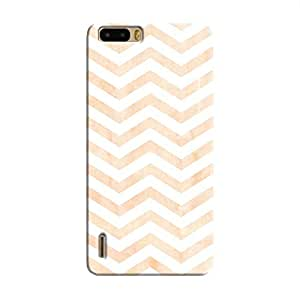 Cover It Up - Orange Bubblegum Print Honor 6 Plus Hard Case