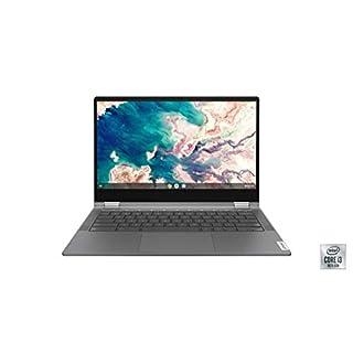 "Lenovo Chromebook Flex 5 13"" Laptop, FHD (1920 x 1080) Touch Display, Intel Core i3-10110U Processor, 4GB DDR4 OnBoard RAM, 64GB SSD, Intel Integrated Graphics, Chrome OS, 82B80006UX, Graphite Grey"