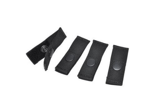 Milspec Molle - HAZARD 4 Molle-Pal Mounting Joints for Mil-Spec Webbing Systems, Black