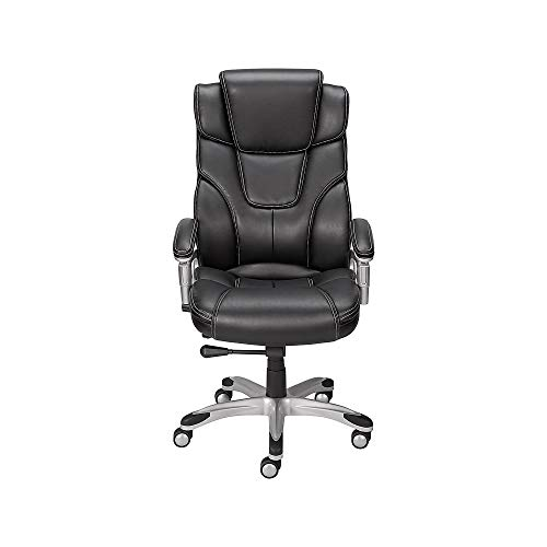 Staples 937975 Baird Bonded Leather Managers Chair - Leather Staples Chair