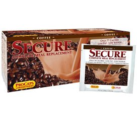 Secure Soy Complete Meal Replacement - Coffee Packets