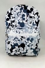 Disney Mickey Mouse Large School Backpack All Over Prints Bag -Mono color [並行輸入品] B078WVN1RY