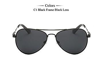 TIANLIANG04 Männer polarisierte Sonnenbrille in Magnesium Legierung Aluminium Führer Mens Fashion UV-Schutz 400 Sonnenbrille HQpq4tKD