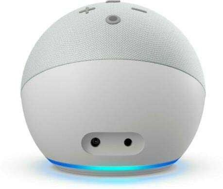 Amazon Echo Dot (4th Gen) Smart Speaker with Alexa 2020 -Glacier White