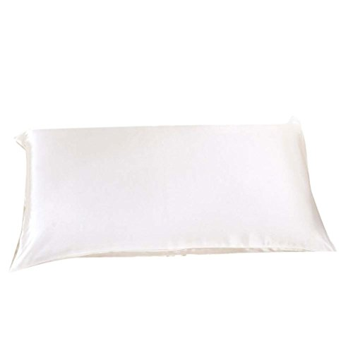 GBSELL Pillow Cover Silk Rectangle Throw Pillow Case Cafe Ho