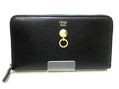 (フェンディ)FENDI 長財布 バイザウェイ 黒 8M0299 【中古】   B07MF71SVX