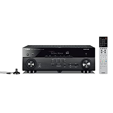 Yamaha AVENTAGE RX-A680 7.2-ch 4K Ultra HD AV Receiver with HDR, Dolby Vision, Dolby Atmos, Wi-Fi, Phono, and MusicCast Black
