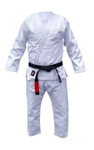 Your Jiu Jitsu Gear Brazilian Jiu Jitsu Black,Blue,White and Grey BJJ Uniform (White, A2lightweight)
