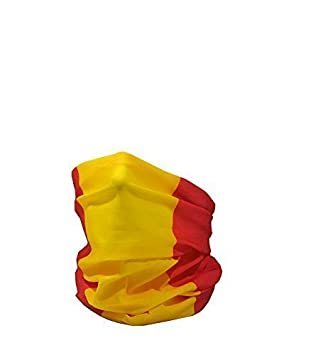 RUFFNEK Bandera de España (Civil)/Bandera de España/la Rojigualda Multifuncional Sombreros