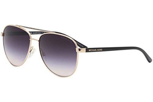 c40add90d Michael Kors MK5007 109936 Rose Gold Hvar Pilot Sunglasses ...