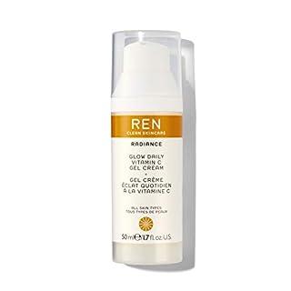 REN Clean Skincare Glow Daily Vitamin C Gel Cream, 1.6 Fl Oz