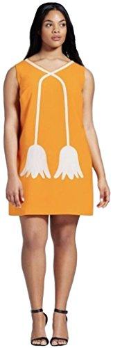 Victoria Beckham Women's Marigold MOD Shift Dress - Beckhams Victoria Style