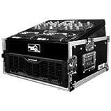 Road Ready RRM3U 10U Slant Mixer Rack/3U Vertical Rack System