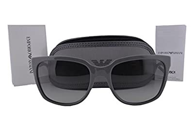 Emporio Armani EA4070 Sunglasses Gray w/Gray Gradient Lens 551011 EA 4070