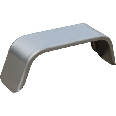 Tow Zone 44923 Silver 10'x 36' x19.25' Jeep-Style Single Steel Fender (Fits Single 13in.-15in. Tires), 1 Pack