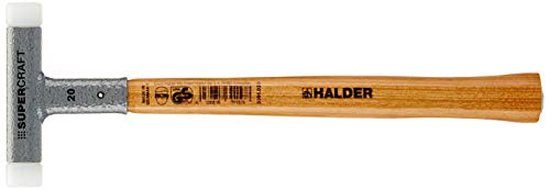 Halder 3366.020 Supercraft 8 oz Dead Blow Hammer, Hickory Handle