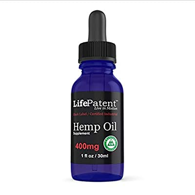 LifePatent Hemp Oil - 400mg by LifePatent