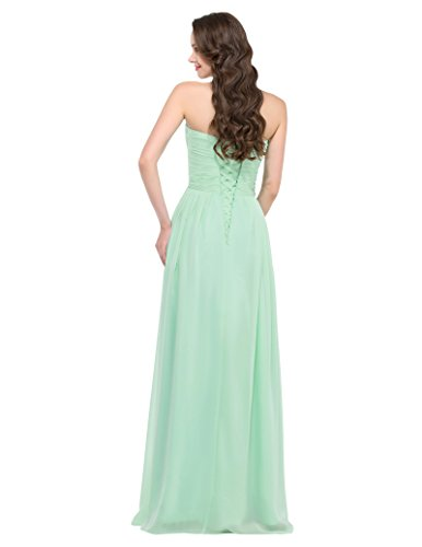 GRACE KARIN Damen Abendkleider Lange Herzform Chiffon Prom Dress in ...
