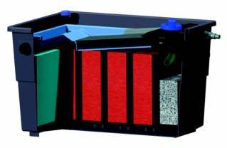 Ersatzschwammset für OASE Biotec Screenmatic 12