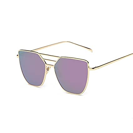 Amazon.com: buildent (TM) Rosa Lujo Cat Eye anteojos de sol ...