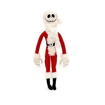 Oficial Disney Tim Burton Pesadilla antes de Navidad de 54cm de Santa Jack Skellington Peluche