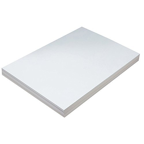 Pacon PAC5214 Tagboard, Heavyweight, 12'' x 18'', White, 100 Sheets 2 Pack