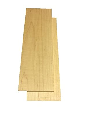 "Hard Maple Lumber 3/4""x4""x12"""