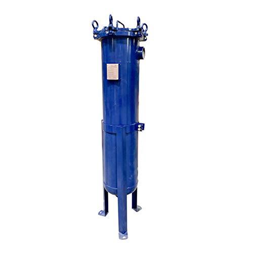 PRM #2 Carbon Steel Bag Filter Housing, 2 Inch NPT Inlet/Bottom Outlet-150 psi