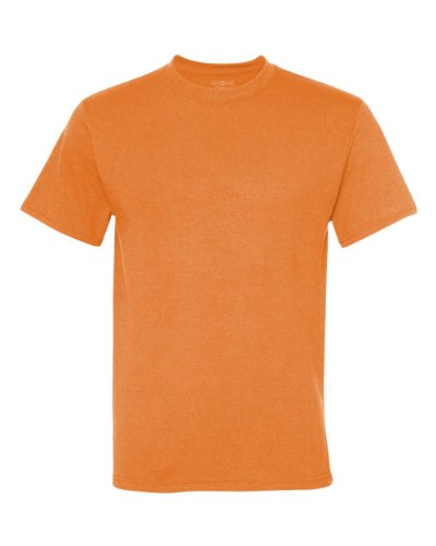 picture of Jerzees 21M Men's Sport Polyester T-Shirt Safety Orange Small