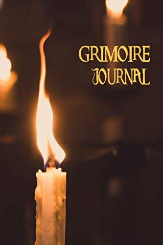 Grimoire Journal - Blank Book Of Shadows: Candlelight Spell Book