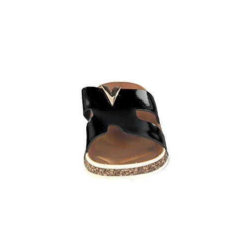 Linea Scarpa VALENTE Zapatillas baño Mujer Sandalias Óptica de corcho Negro