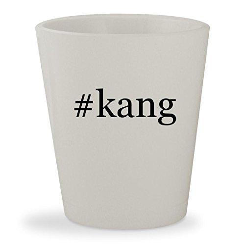#kang - White Hashtag Ceramic 1.5oz Shot (Liu Kang Costume)