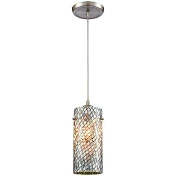 Elk Lighting 10444//1 Ceiling-Pendant-fixtures Gray