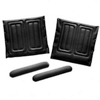 Invacare Upholstery Kit - Full-Length Armrests BLACK - 18