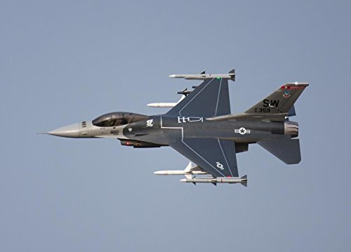 F-16C Grey Super Scale 90mm with 12 Blade EDF Ducted Fan Jet RC Airplane PNP
