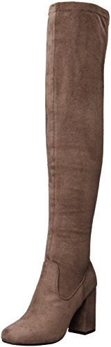 Carlos by Carlos Santana Women's Rumer Over The Knee Boot, Dark Stone, 9.5 M US