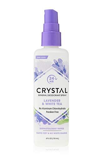 (Crystal Essence Lavender and White Tea Body Spray - 4 oz - Liquid)