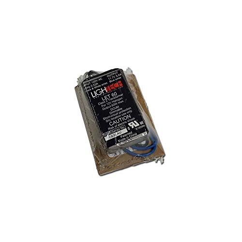 LighTech LET-60 Electrical Transformer, 12V 60W Electronic -