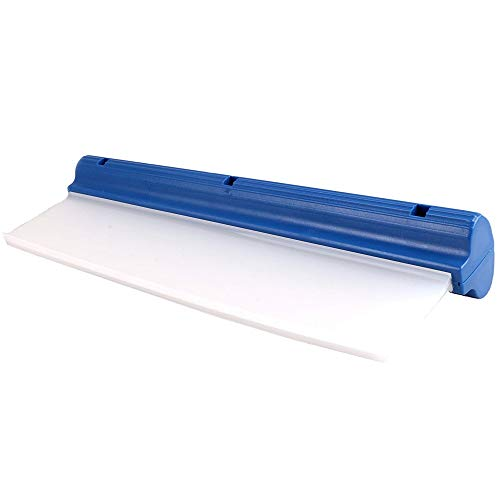 "Huiscu Water Blade 12"" - Super Flexible Silicone Squeegee - For Car Or Home Use - Best For Automotive Or Bathroom Drying!"
