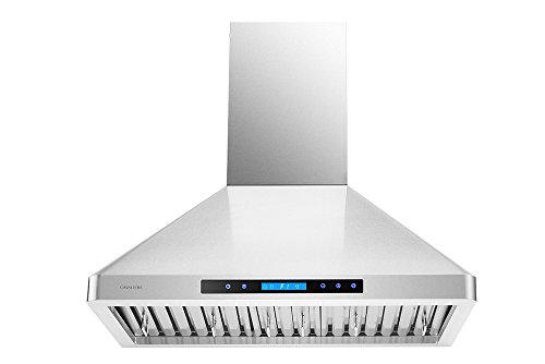 CAVALIERE AP238-PS-29-30 Wall Mounted Stainless Steel Kitchen Range Hood with Remote Control by CAVALIERE