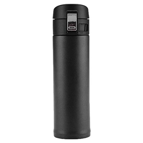Calap Store - 500ml Stainless Steel Insulated Thermos Cup Vacuum Flask Coffee Mug Drink Bottle Portable Travel Car Water Glass with Bounce Lid from CALAP★STORE