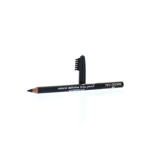 (Sorme Cosmetics Waterproof Eyebrow Pencil, Rich Brown, 0.04 Ounce)