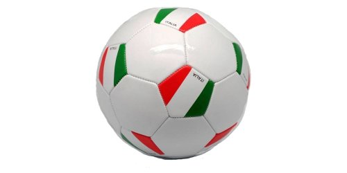 Italia Italy White Country Flag FIFA World Cup Soccer Ball Size 5.. New by SUPERDAVES SUPERSTORE