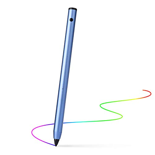 Wuudy Active Stylus Pen Adjustable Fine Point Stylus Providing Accurate/High Sensitive Writing and Drawing Experience for iPad/iPhone/Android and Other Touchscreen ()