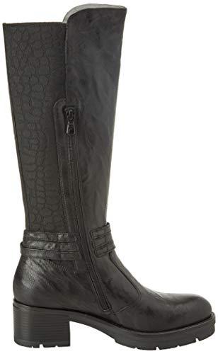 Elastico Femme Monaco Giardini Noir 100 Nero Classiques Black Bottes f7P1xF